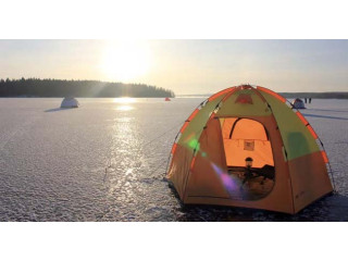 У нас появились новые рыболовные палатки СТЭК с дышащим верхом.